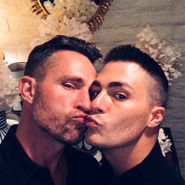 Colton Haynes, Jeff Leatham